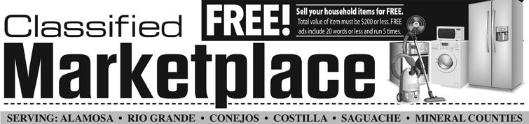 Alamosa News | Classifieds